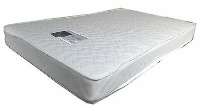 NEW INNERSPRING COT Crib baby bed MATTRESS 100% COTTON COVER 131x75 Australian
