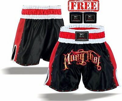 EVO Muay Thai Fight Shorts MMA Kick Boxing Grappling Martial Arts Gear UFC Men