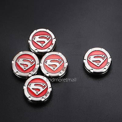 New 2 of 2X Red Superman Weight Replacement for Titleist Scotty Cameron Putters