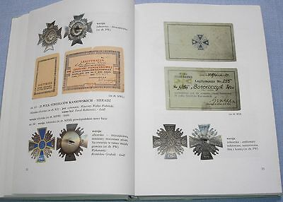 Documents and badges of the Polish Army 1918-1945 Authorisation cards Diplomas