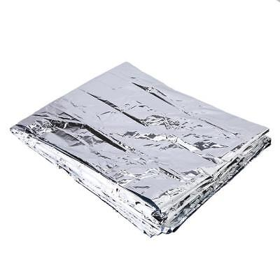 Outdoor Thermal Emergency BLANKET Sheet First Aid Waterproof Camping Survival ON