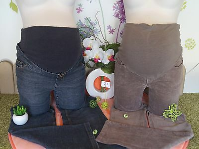 Lot vêtements grossesse occasion maternité... Pantalon velours, Jean ...  T : 38