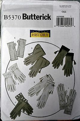 Gloves Making History B5370 Butterick Sewing Pattern