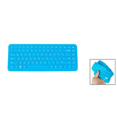 New Keyboard Flexible Silicone Guard Film Shell Cover Blue for HP G4 G6 DT