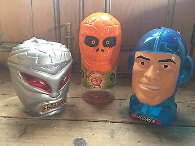 Collectible Candy Display Heads Boomer Bubblegum Etc