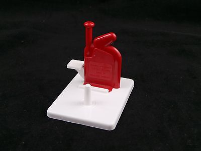 Vintage Witch Automatic Needle Threader Red and White Made In Germany