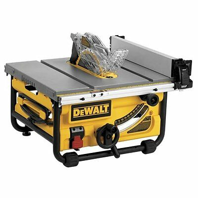 DEWALT DWE7480 10-Inch Compact Job Site Table Saw with Site-Pro Modular Guarding
