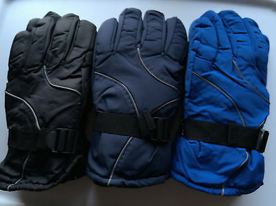 Men Adult Winter Sports Motorcycle Warm Thermal Ski Snow outdoor Gloves Mittens