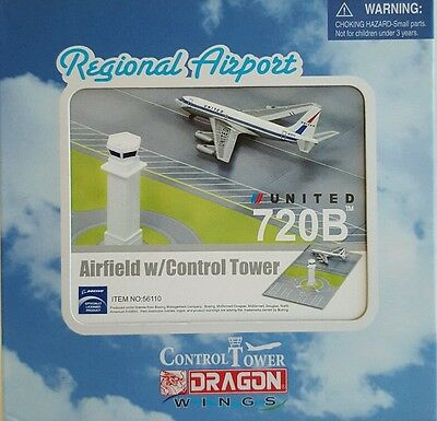 Dragon Wings United 720B Regional Airport Airfield 1:400