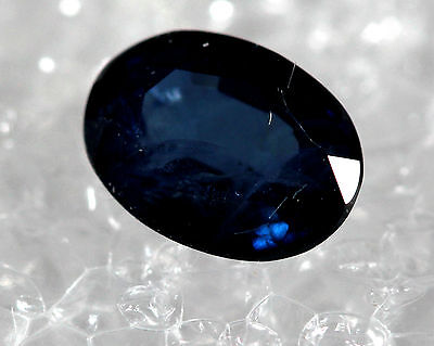 Genuine Natural Sapphire Royal Blue oval Shape Faceted SB-03