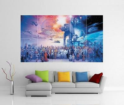 NEW Invention Patent Movie Art POSTER Star Wars Hoth Storm Trooper Patent