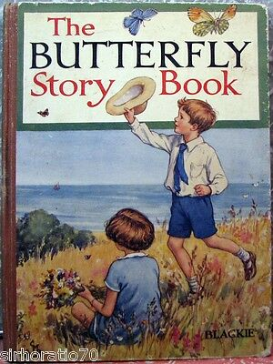 The BUTTERFLY Story BOOK Annual H/C Blackie - 1939