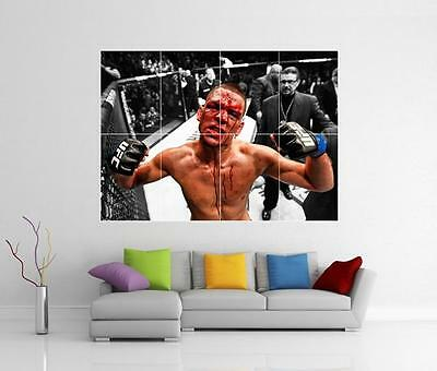 Nate Diaz V Conor Mcgregor Ufc 196 Giant Wall Art Photo Picture Print Poster