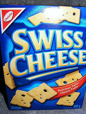 CHRISTIE SWISS CHEESE CRACKERS - CANADIAN FAVORITE - Delicious - 200 g