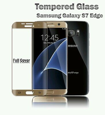 TPU CASE + 3D CURVED TEMPERED GLASS SCREEN PROTECTOR for SAMSUNG GALAXY S7 EDGE