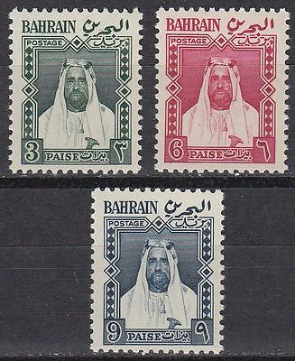 Bahrain 1957 ** Mi.118/20 SG L4/6 Local Definitives Freimarken