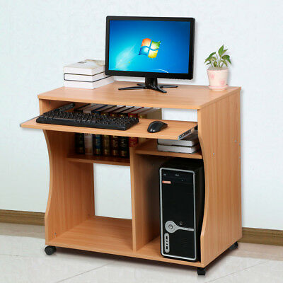 New Space Saver Computer Table Desk Home Office Work Station Study Furniture UK