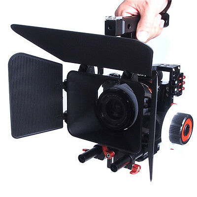 Commlite Comstar K5 Video System Camera Cage Stabilizer Kit for Micro Cameras