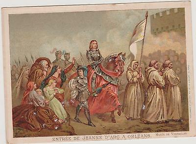 Image Litho.vieillemard/entree De Jeanne D'arc A Orleans/gustave Ducoudray/