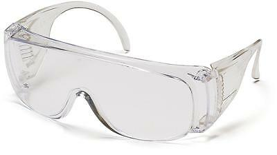 Pyramex Solo Safety Glasses Fit Over Prescription Eyewear S510SJ Jobs Work