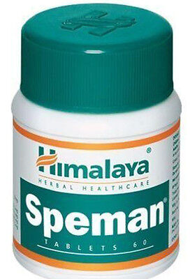 Speman Himalaya Herbals 60 Tablets. Expiary 2018. Free Shipping Worldwide. RBBS