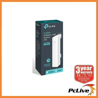 TP-Link CPE220 2.4GHz 300Mbps 12dBi Outdoor CPE Wireless Access Point Repeater