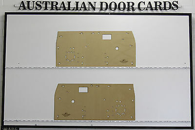 Toyota Hilux 1979-1983 Door Cards. Ute Pick Up Truck. Masonite Trim Panels