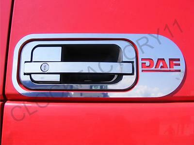 Set Of 10 pcs.Handle Door for DAF XF 105/95  Made Of Polished Stainless Steel