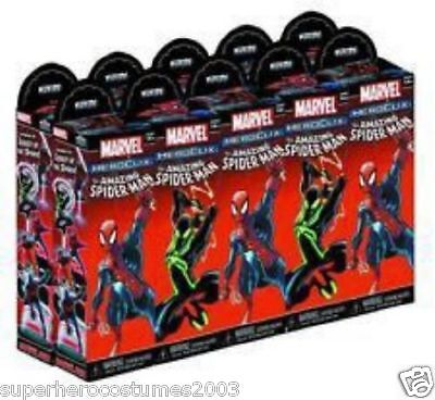 The Amazing Spider-Man Booster Pack Heroclix Marvel Comics Brick 10 Packs NEW
