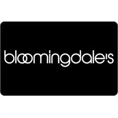 Bloomingdale's Gift Card - $25, $50 or $100 - Email delivery