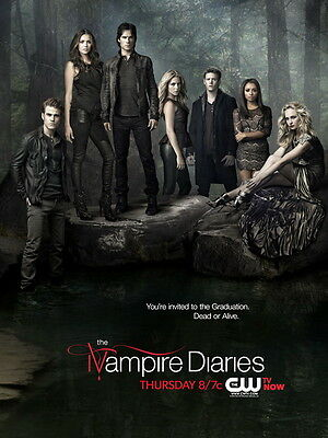 The Vampire Diaries Characters TV Series Wall Print POSTER