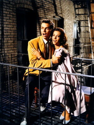 West Side Story 1961 Retro Movie Vintage Wall Print POSTER