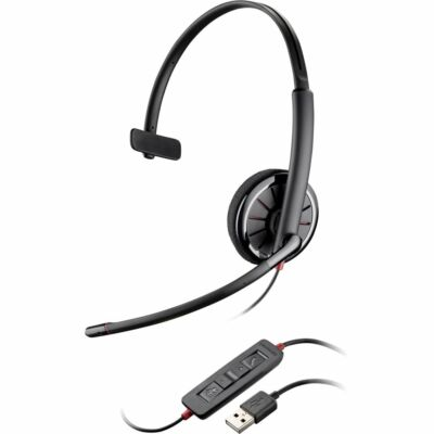 New/Sealed Genuine Plantronics Blackwire C310 monaural USB headset for PC or Mac