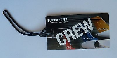Bombardier CREW CHALLENGER Luggage Tag
