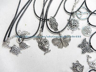 US SELLER - 25 pieces wholesale necklaces jewelry lot cheap accessories
