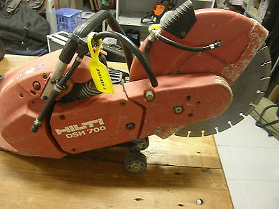 HILTI DSH 700  Hand-held petrol saw/ Cut off Saw