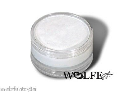 Wolfe FX 90g Pot Essential White Professional Face and Body Paint Make up Party