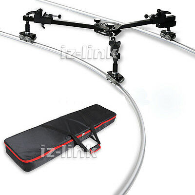 Load 30KG Portable Camera Track Dolly Tracking Slider for Shooting Video Film