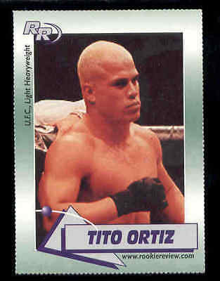 2002 Tito Ortiz MMa Figther Rookie Review rookie