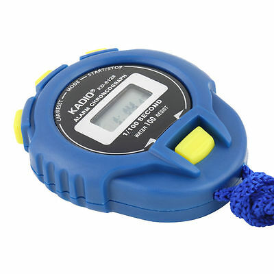 New Chronograph Digital Timer Stopwatch Sport Counter Odometer Watch