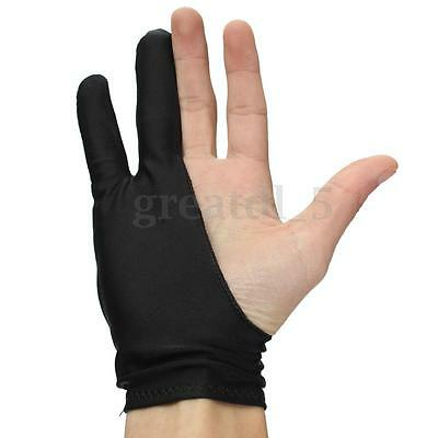 UK Two Finger Anti-fouling Glove For Artist Drawing & Pen Graphic Tablet Pad New