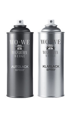 37,38€/L-2x400ml SPRAYDOSEN LACK SPRAY FÜR BMW WX13 PYRITBRAUN P.