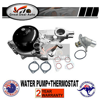 Water Pump with Thermostat Holden Commodore VT VX VY VZ WH WK WL 5.7 6.0 V8 LS1