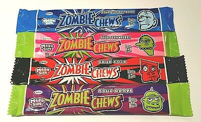 ☆COMBO BUY☆ 24 x MEGA ZOMBIE CHEWS 28g - Fast & Free post - Kids party lollies -