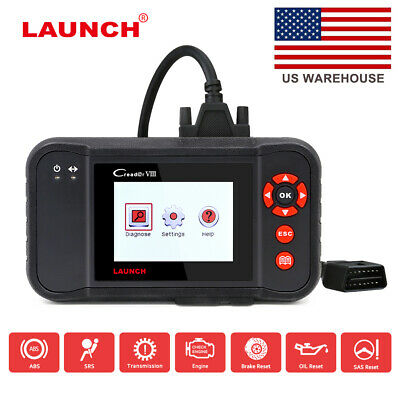 Launch X431 Easydiag 2.0 Bluetooth Scanner ABS SRS A/T OBD2 For iPhone Android
