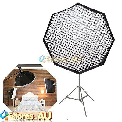 Godox 120cm Octagon Umbrella Softbox w/Grid For Studio Strobe Bowens Mount【AU】