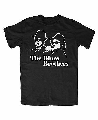 Blues Brother T-Shirt Chicago Fun Kult Film Musik Movie Hollywood