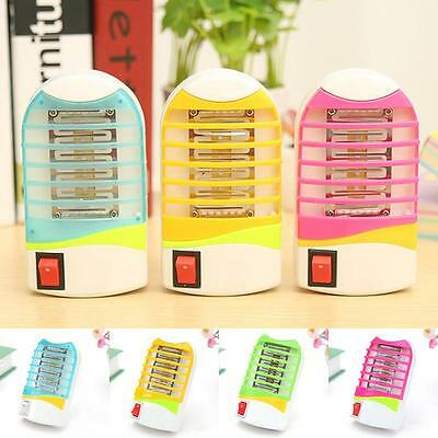 LED Electric Indoor Useful Lamp Mosquito Insect Pest Fly Bug Zapper Killer Hot
