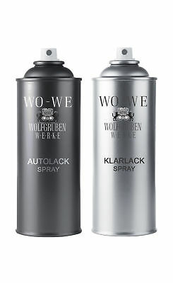 37,38€/L-2x400ml SPRAYDOSEN LACK SPRAY FÜR MERCEDES 341 AQUAMARIN M.