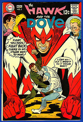 The Hawk and the Dove #2  * art by Steve Ditko
